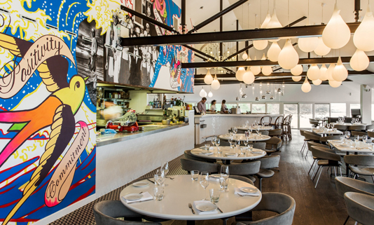 Located on the beach at Watergate Bay, Jamie Oliver's Fifteen Cornwall is a restaurant making a difference.