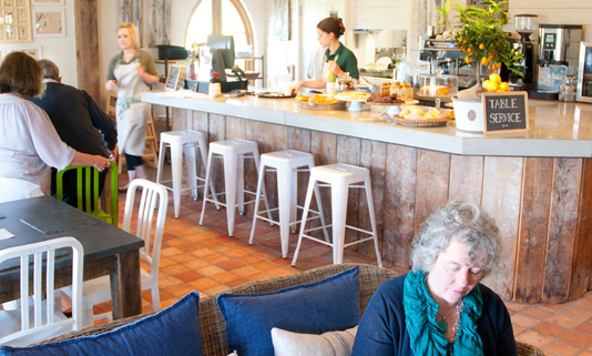 Located on the hillside above the town of Lostwithiel and with glorious views looking across to Restormel Castle, this award winning café offers the best of Cornwall's local produce in a delightful setting.