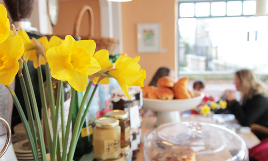 The Honey Pot is a warm and friendly oasis in the heart of Penzance, serving delicious home-made food and cakes six days a week.