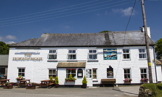If you want delicious fresh food with a great local pedigree, you should try a visit to the Falmouth Packet.