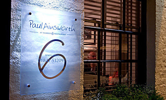 Paul Ainsworth at Number 6 is a Michelin starred restaurant in the heart of Padstow.