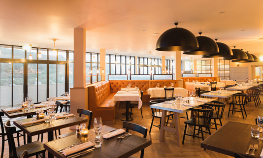 Zacry's is the new restaurant at Watergate Bay.