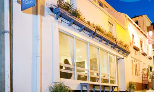Mackerel Sky is a contemporary British restaurant with a focus on seafood and Cornish produce.