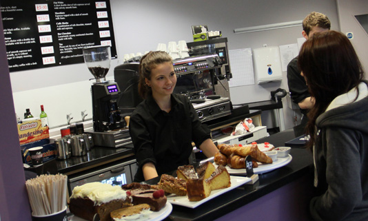 The menu changes daily with fresh, seasonal local produce. The licensed restaurant is en route to the Truro City centre.