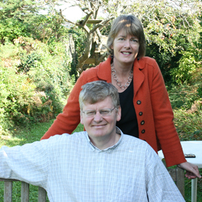 Ian and  Alison Waghorn