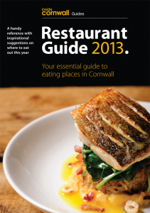Inside Cornwall Restaurant Guide